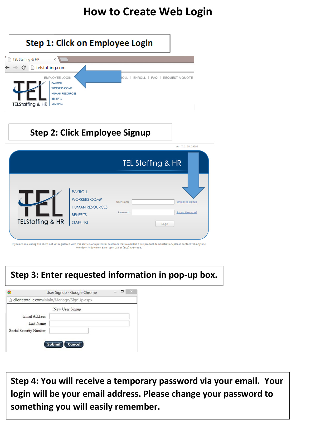 TEL-Professional-Solutions-Payroll-HR-Staffing-Employee-Benefits-Risk-Management-PEO-ASO_Summit-How-To-Create-Login