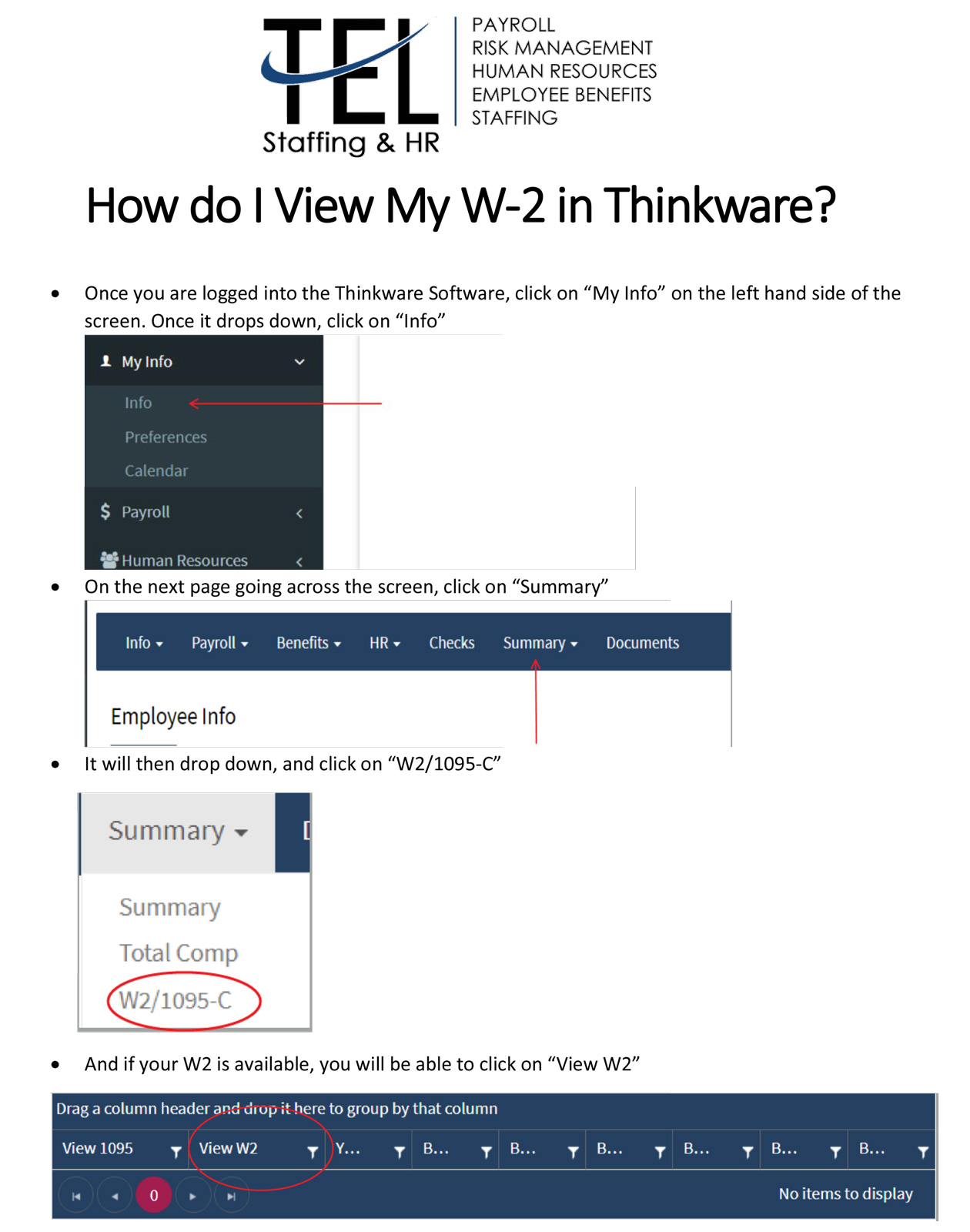 TEL-Staffing-and-HR-Professional-PEO-and-ASO-Solutions-How-do-I-View-My-W2-in-Thinkware